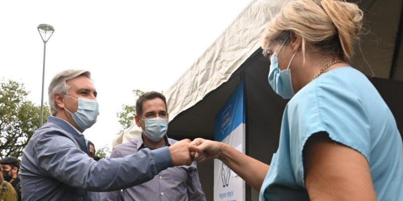 """""""Nos Encontramos En Tu Barrio"""": En El Primer Día, Más De 700 Vecinos De Villa Corina Y Alrededores Accedieron A Testeos Y Chequeos Médicos"""