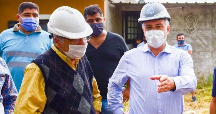 Llaryora: Las Obras De Cloacas En Villa El Libertador Son De Estricta Justicia Social