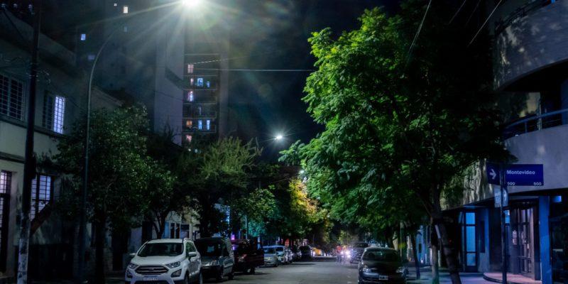 Finalizaron Las Tareas De Iluminación LED En Barrio Güemes