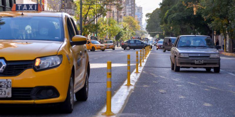 Colocan Nuevos Delineadores De Tránsito En Avenidas Colón Y General Paz