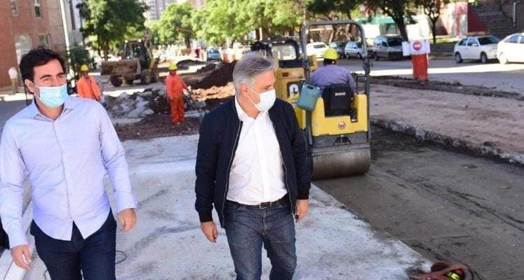 Avanza La Repavimentación De 3 Mil Metros En Avenida Pueyrredón