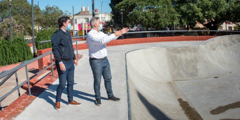 San Vicente Tendrá Su Plaza Joven, Con Un Circuito De Pump Track Y Un Bowl