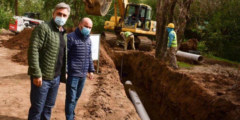 Instalan Más De 800 Metros De Un Nuevo Aliviador En Quebrada De Las Rosas
