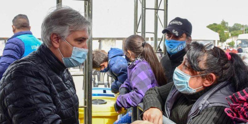 Llaryora Visitó El Operativo Sanitario Municipal En Barrio Parque República