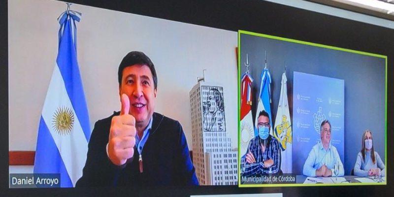Llaryora Se Reunió Por Zoom Con El Ministro Daniel Arroyo