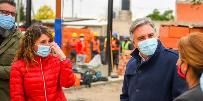 Construyen Un Centro Comunitario En Barrio Comunidad Renó