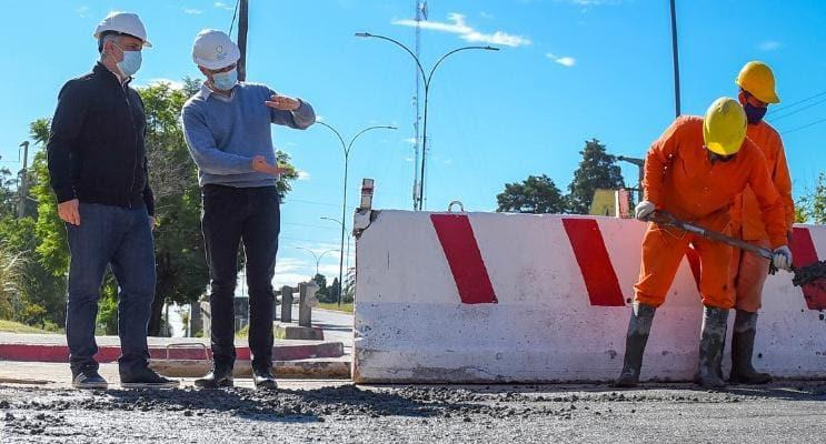 La Reconstrucción Del Desagüe De Avenida Vélez Sársfield, En Su Etapa Final