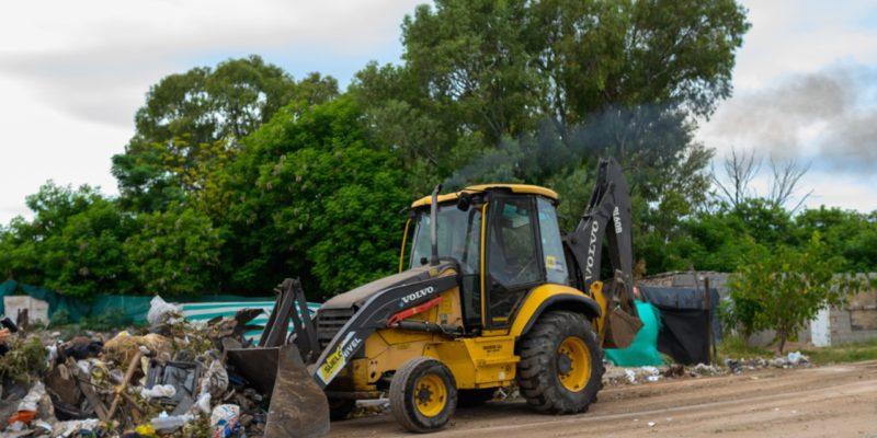 Limpieza De Basurales: Se Retiraron Más De 13.000 Toneladas De Residuos Durante El Mes De Abril