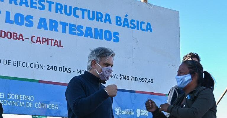 Villa Los Artesanos: Avanzan Los Trabajos De Urbanización Y Agua Potable