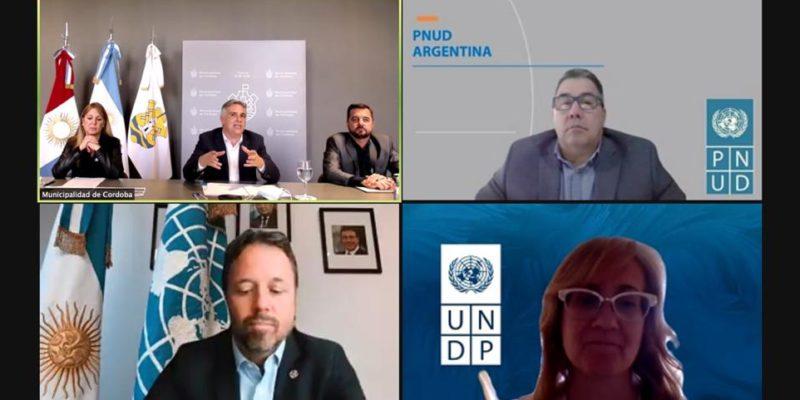 Llaryora Se Reunió Con El Nuevo Representante Residente Del PNUD En Argentina