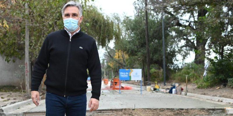 Villa El Libertador: Se Repavimentan Con Hormigón 3 Mil Metros Lineales De Calles Y Cordón Cuneta