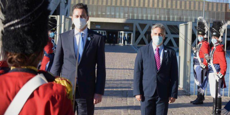 Llaryora Participó Del Acto Oficial Por El 211º Aniversario De La Revolución De Mayo