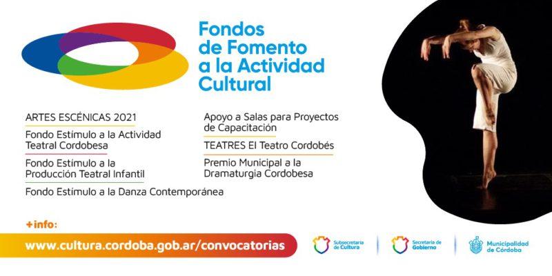 Fondos De Fomento Cultural: Abren Seis Convocatorias Municipales Para Artes Escénicas