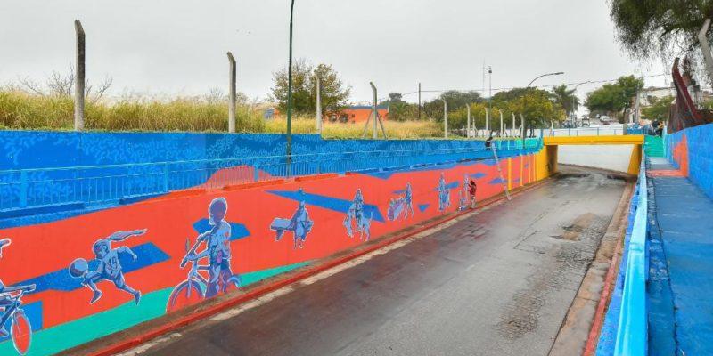 El Municipio Y Organizaciones Barriales Le Dan Vida Al Viaducto De La Calle Polonia