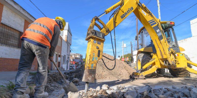Reparan Tramos De Pavimento En 850 Metros De Calle Mariano Moreno