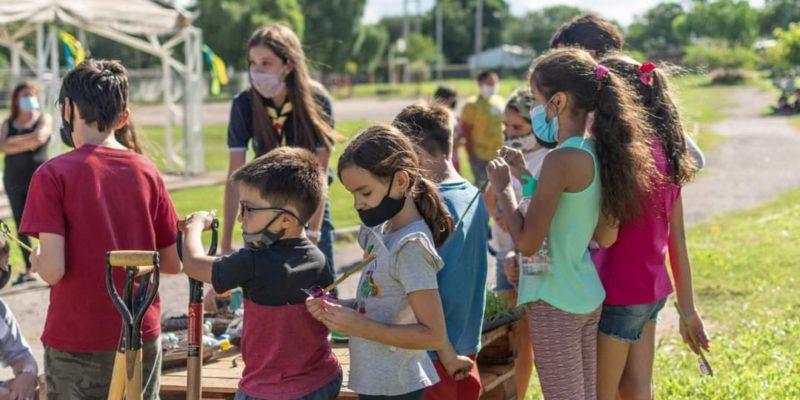 Centros De Aire Libre En Los Parques Educativos