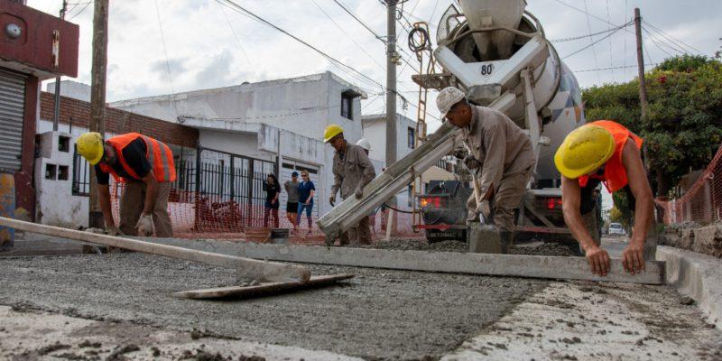 Villa El Libertador: Repararon 200 Metros De Calzada En Calle Congreso