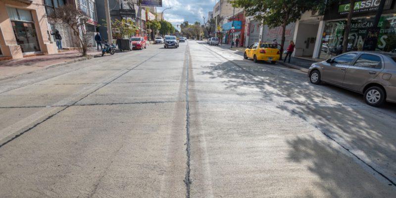 Quedó Totalmente Rehabilitada La Calzada De Avenida Castro Barros