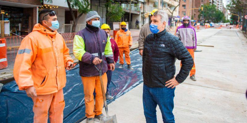 Avenida Pueyrredón: La Primera Etapa De Reparación Presenta Un 85% De Avance