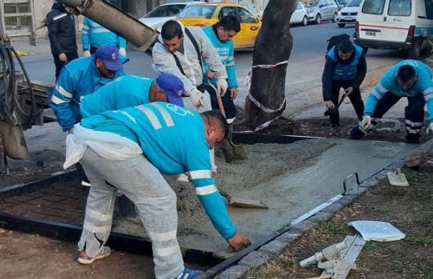 Reconstruyen 400 Metros De Vereda Sobre La Estación Del Ferrocarril De Alta Córdoba