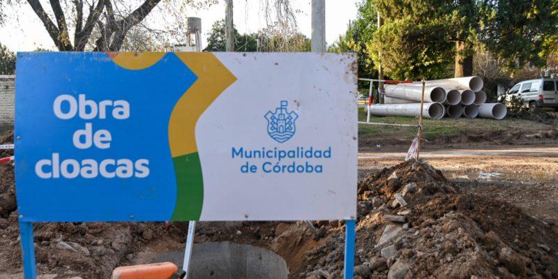 Las Obras Del Aliviador Cloacal De Barrio Inaudi Presentan 90% De Avance