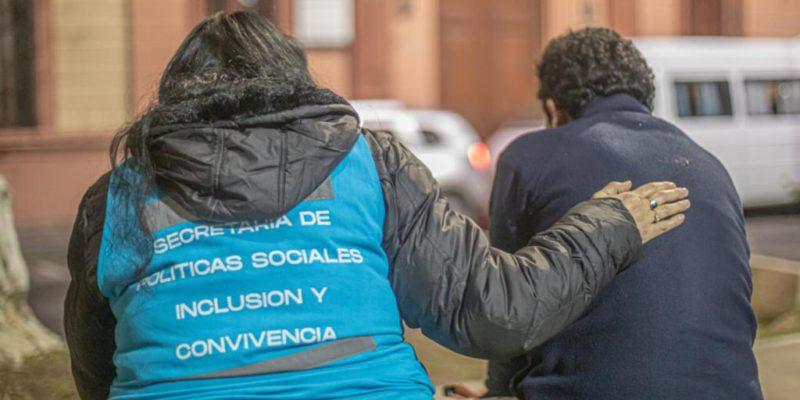 Con El Frío, Se Intensifica La Ayuda A Las Personas En Situación De Calle