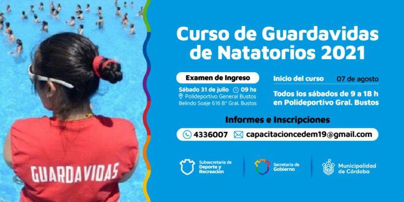 Abren Las Inscripciones Para El Curso Municipal De Guardavidas De Natatorios 2021