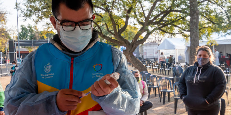 El Operativo Sanitario Municipal Llega A Los Barrios SEP Y General Arenales