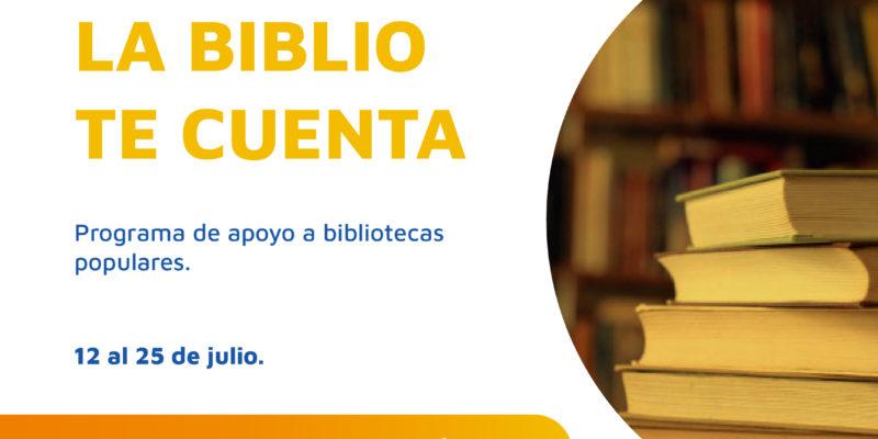 """El Programa """"La Biblio Te Cuenta"""" Abre Convocatoria Dentro Del Plan De Compromiso Cultural"""