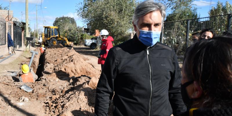 Las Obras De Agua Para La Cooperativa 6 De Agosto Presentan Un Avance Del 30%