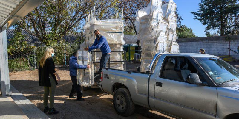 Escuelas Y Jardines Municipales Recibieron Nuevo Mobiliario