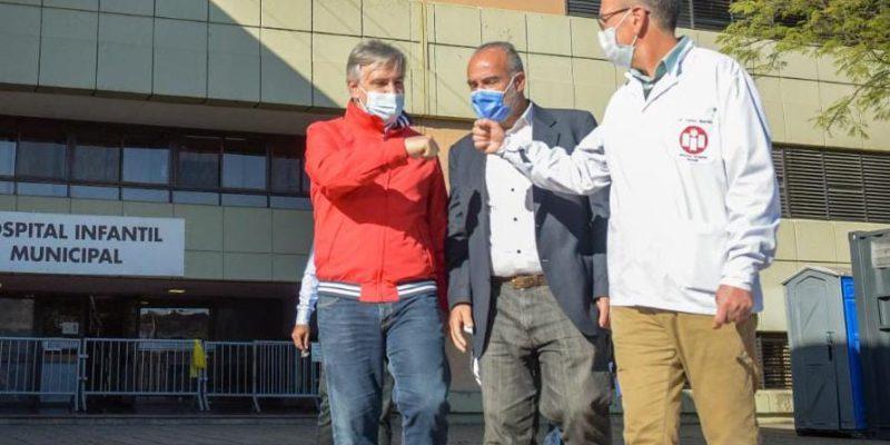 La Municipalidad de Córdoba avanza con las obras del Hospital Infantil
