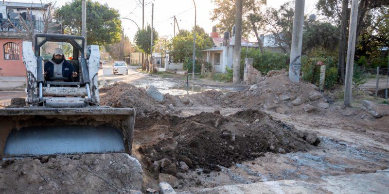 Avanza El Plan De Rehabilitación De Calzada Con Hormigón En Villa El Libertador