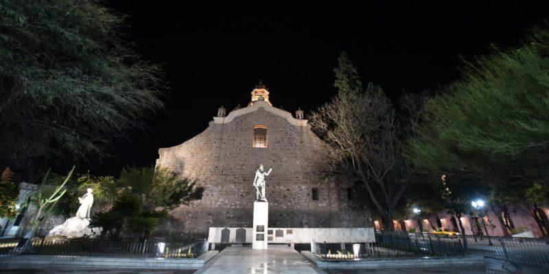El Municipio Revaloriza La Plazoleta Del Fundador Con Nueva Luminaria