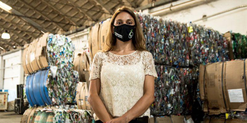 En El Primer Semestre Del Año, Los Centros Verdes Procesaron Y Comercializaron Residuos Secos Por Casi 10 Millones De Pesos