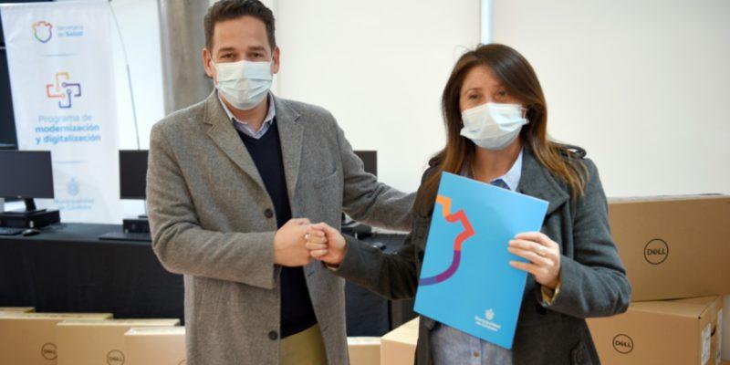 La Municipalidad Entregó Computadoras A 11 Centros De Salud
