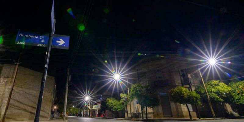 Con 174 Nuevas Lámparas Completan La Iluminación LED De Barrio Alberdi