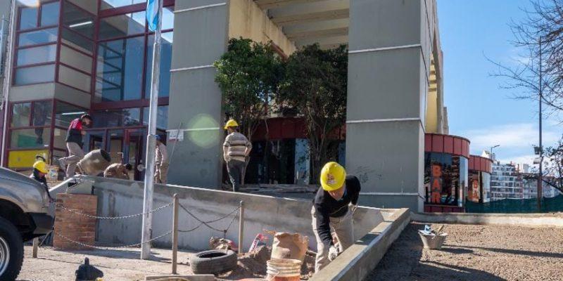 Hospital De Urgencias: Avanzan Los Trabajos De Recuperación Edilicia
