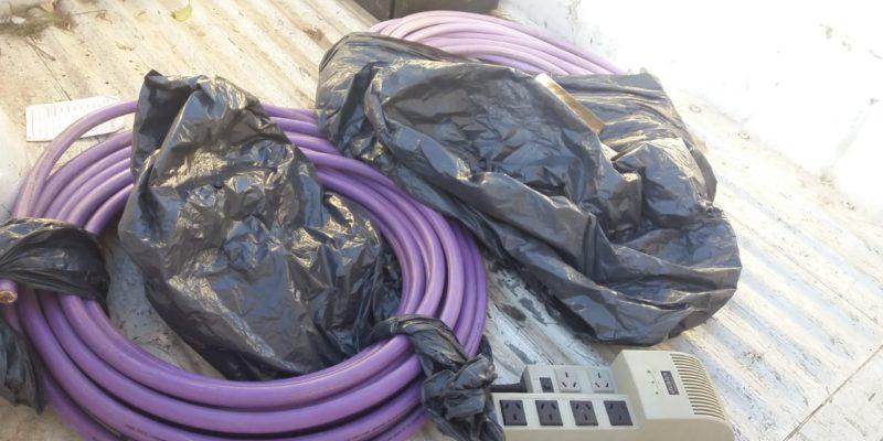 La Municipalidad Detuvo A Tres Personas Robando Cables Subterráneos Del Parque Sarmiento