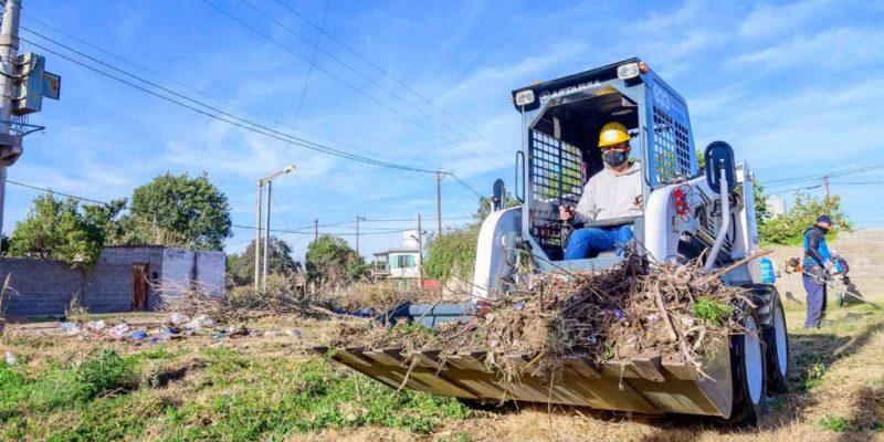 Las Cuadrillas Del Centro Operativo Chalet San Felipe Ya Trabajan En Los Barrios