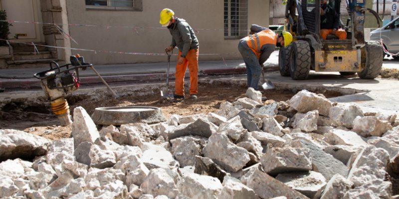 Etapa Final Del Plan De Bacheo Y Rehabilitación Sobre Calle Corro
