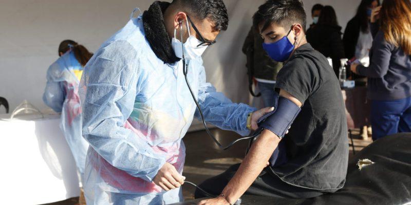 Lunes Y Martes, El Operativo Sanitario Se Encuentra En Los Barrios Alto Alberdi Y Congreso