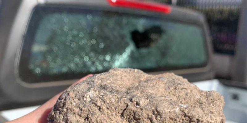 Atacan A Pedradas A Una De Las Camionetas De La Patrulla Ambiental