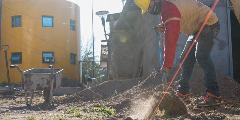 El Municipio Continúa Con Las Intervenciones Para La Recuperación Edilicia En El CPC Empalme