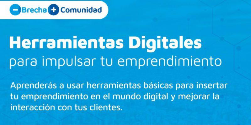 """Abren Las Inscripciones Para El Curso Gratuito """"Herramientas Digitales Para Impulsar Tu Emprendimiento"""""""