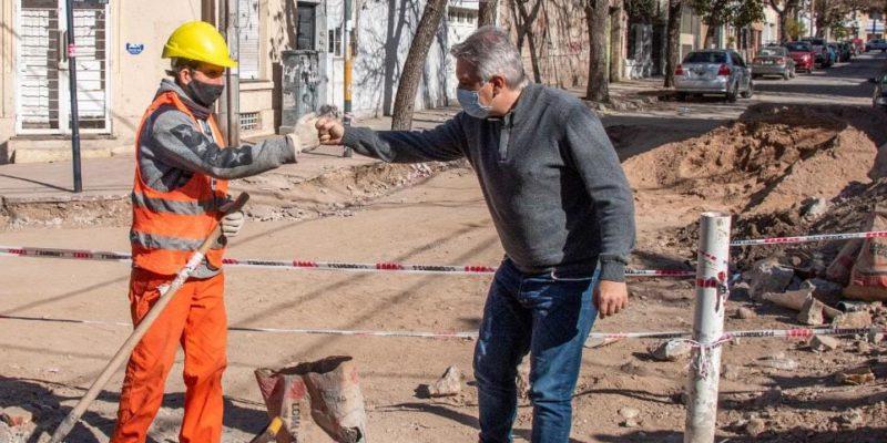 Instalan 100 Metros De Un Aliviados Cloacal Que Beneficiará A Cuatro Barrios