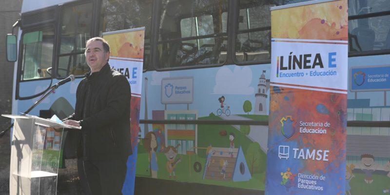 """Inició El Programa """"Línea E: Encuentro + Educación"""", Que Ofrece Paseos Y Recorridos Gratuitos Por La Ciudad"""