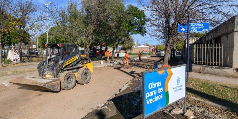 Residencial San Roque: Reparan 200 Metros De La Calle Aviador Abel