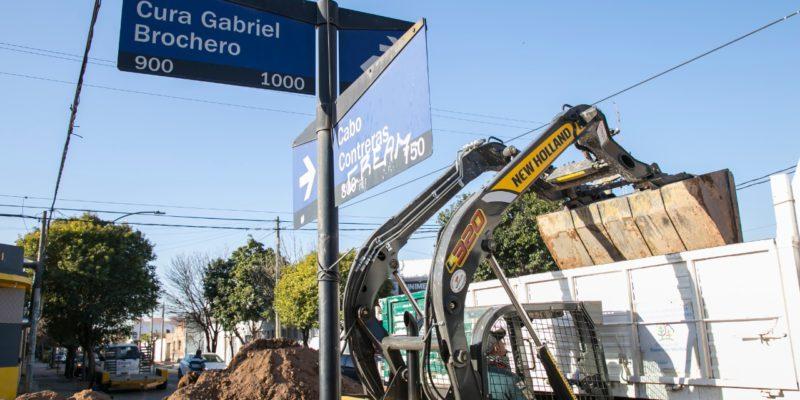 Instalan 100 Metros De Aliviador En Barrio General Bustos
