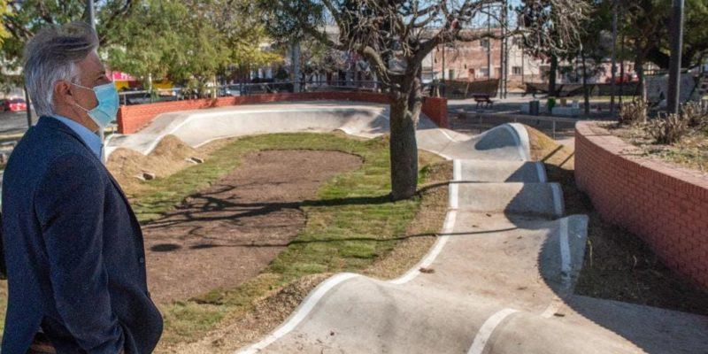 En Los Próximos Días, El Municipio Habilitará El Circuito De Pump Track Y Bowl En La Plaza Urquiza De San Vicente